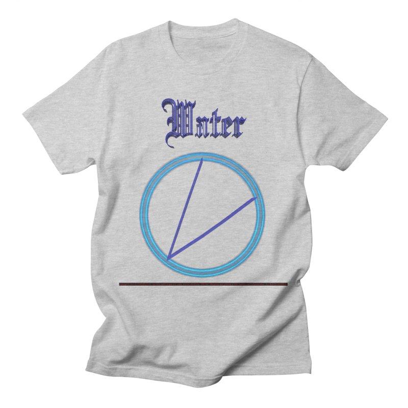 Water (title) Men's T-Shirt by CIULLO CORPORATION's Artist Shop