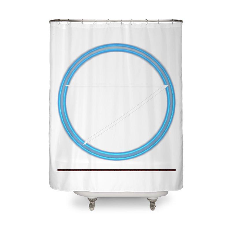 Air Home Shower Curtain by CIULLO CORPORATION's Artist Shop