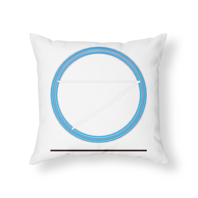 Air Home Throw Pillow by CIULLO CORPORATION's Artist Shop