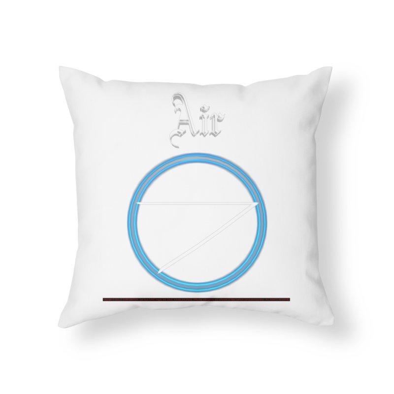 Air (title) Home Throw Pillow by CIULLO CORPORATION's Artist Shop