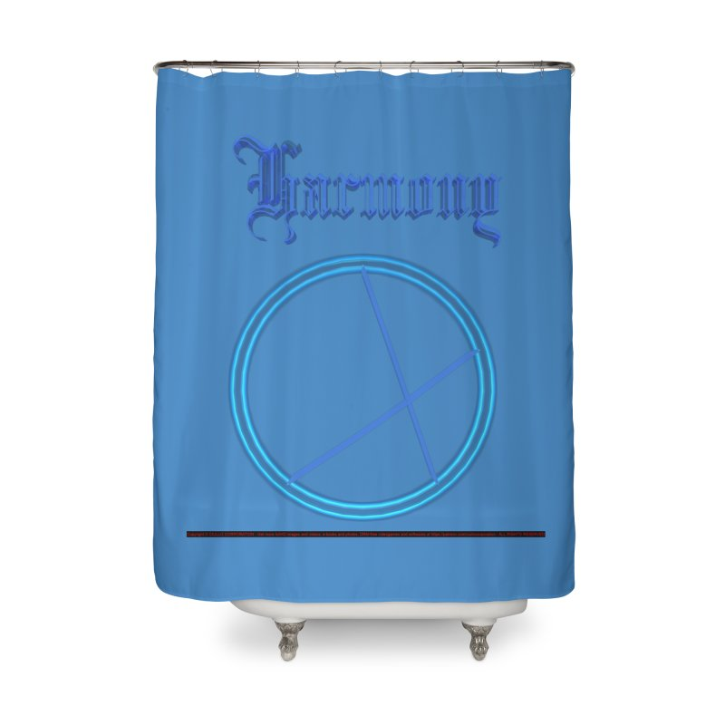 Harmony (title) Home Shower Curtain by CIULLO CORPORATION's Artist Shop