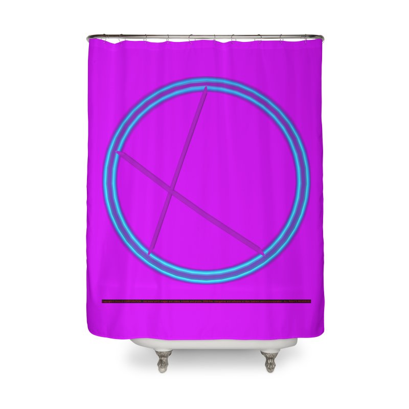 Discord Home Shower Curtain by CIULLO CORPORATION's Artist Shop