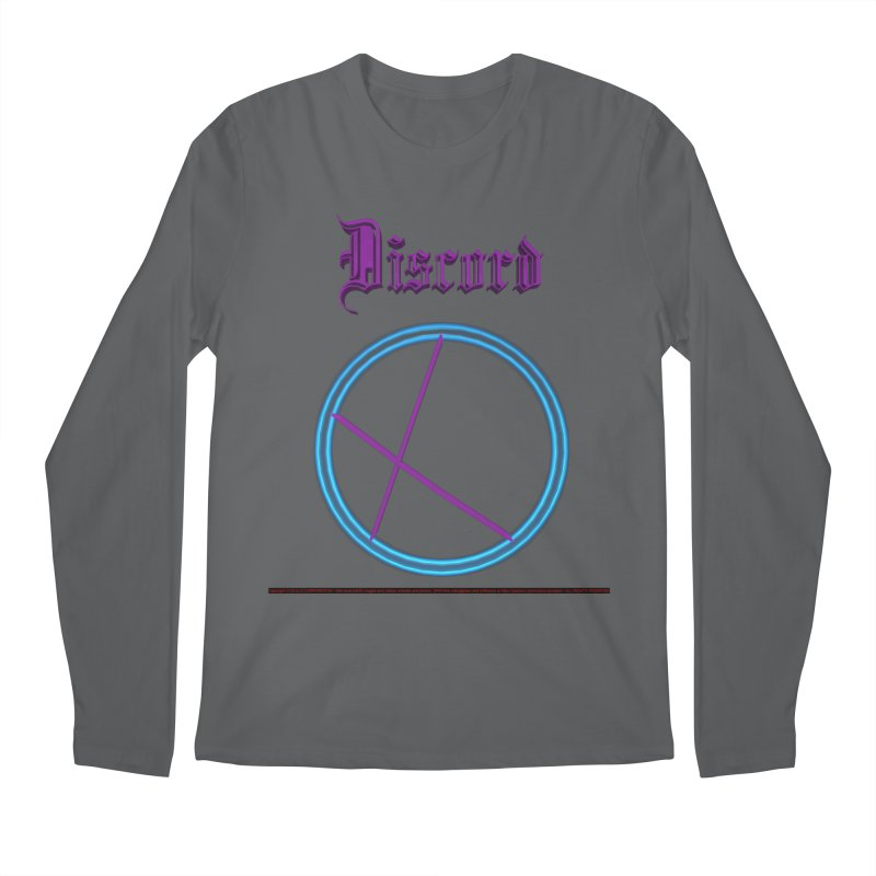 Discord (title) Men's Longsleeve T-Shirt by CIULLO CORPORATION's Artist Shop