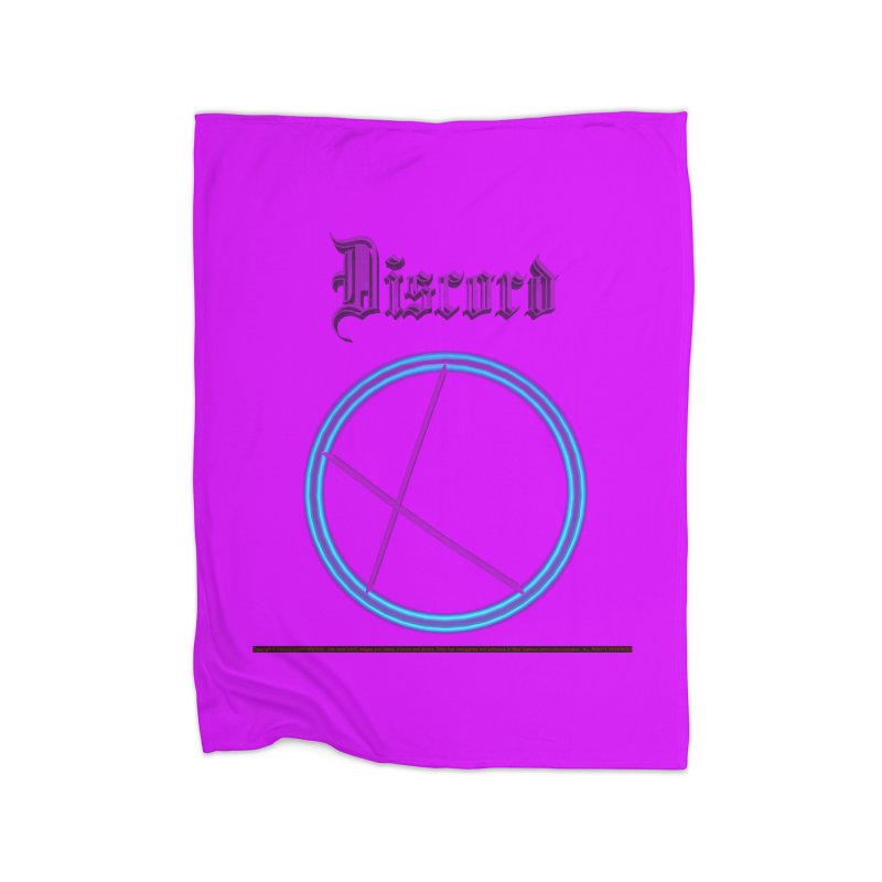 Discord (title) Home Blanket by CIULLO CORPORATION's Artist Shop