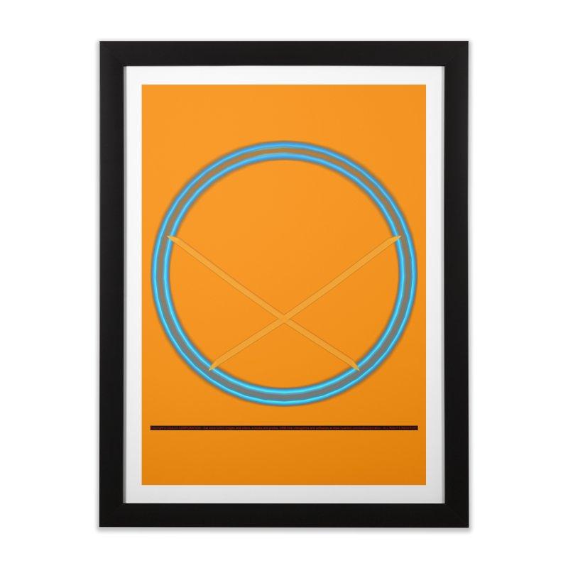 Equilibrium Home Framed Fine Art Print by CIULLO CORPORATION's Artist Shop