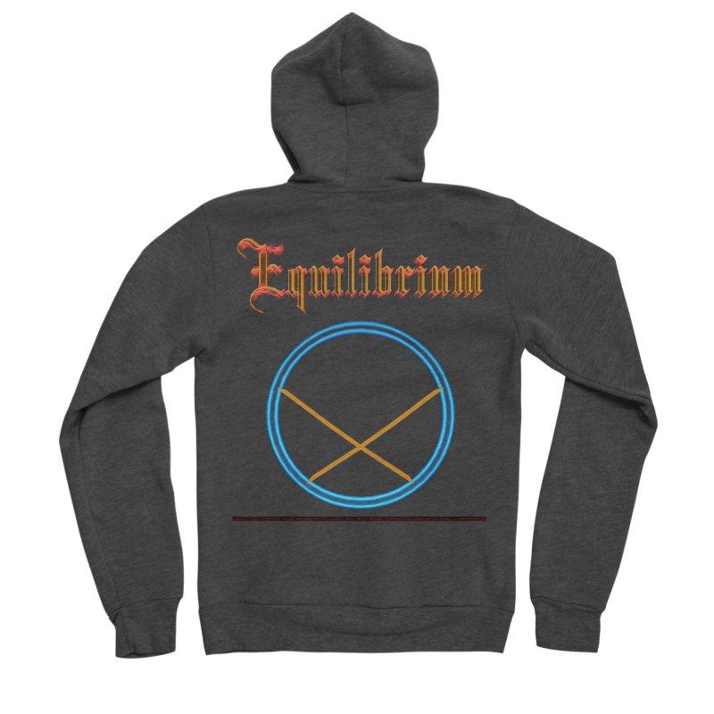 Equilibrium (title) Men's Zip-Up Hoody by CIULLO CORPORATION's Artist Shop