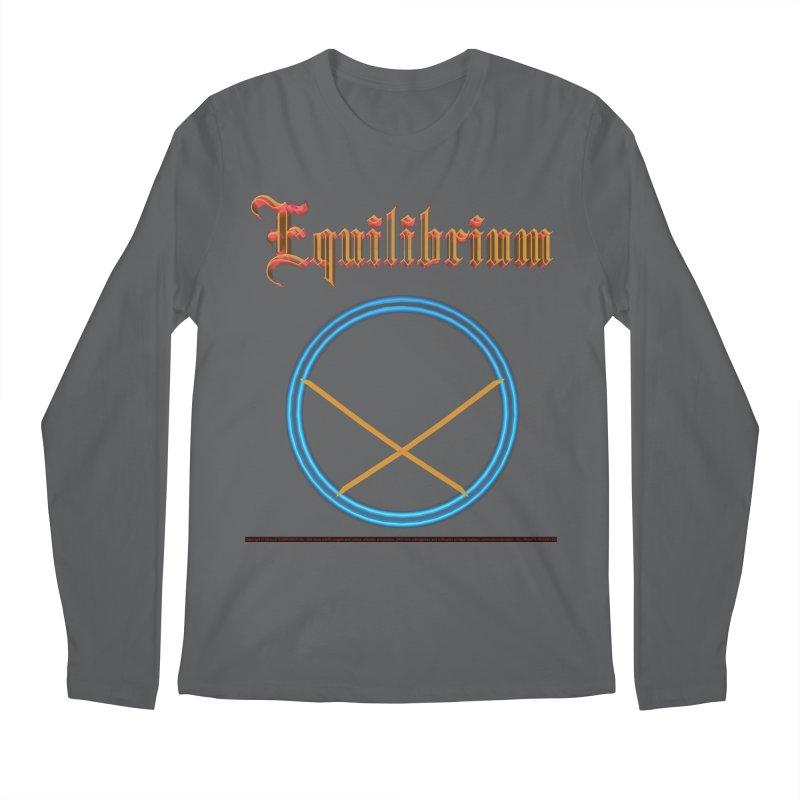 Equilibrium (title) Men's Longsleeve T-Shirt by CIULLO CORPORATION's Artist Shop