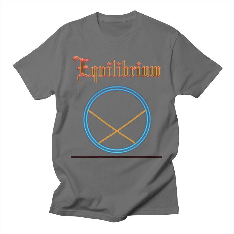 Equilibrium (title) Men's T-Shirt by CIULLO CORPORATION's Artist Shop