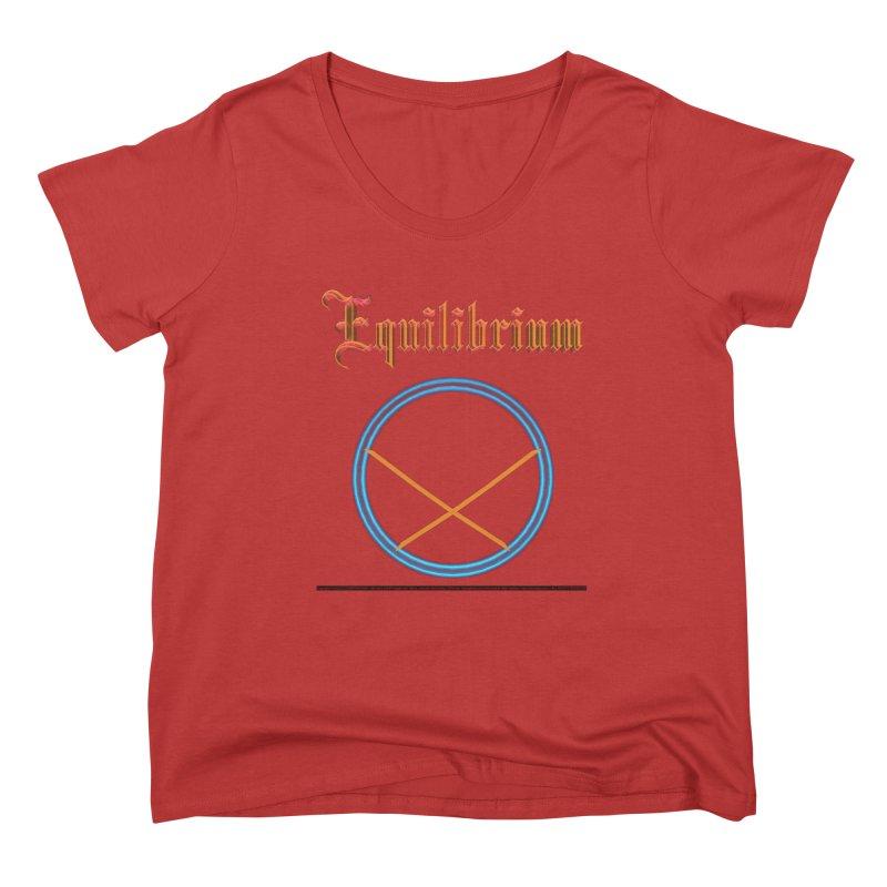 Equilibrium (title) Women's Scoop Neck by CIULLO CORPORATION's Artist Shop