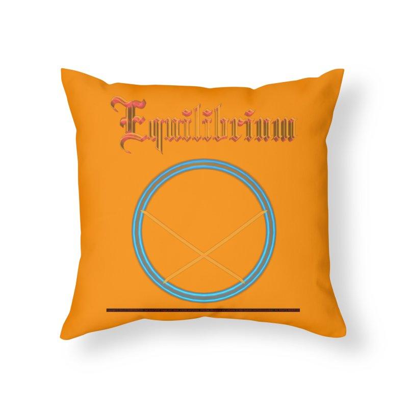 Equilibrium (title) Home Throw Pillow by CIULLO CORPORATION's Artist Shop