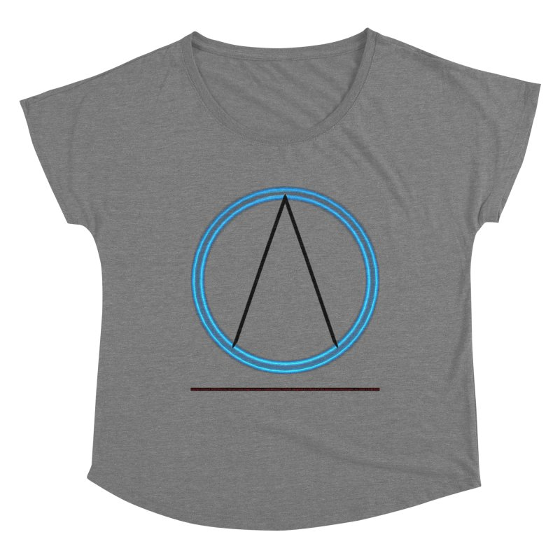 Aether Women's Scoop Neck by CIULLO CORPORATION's Artist Shop