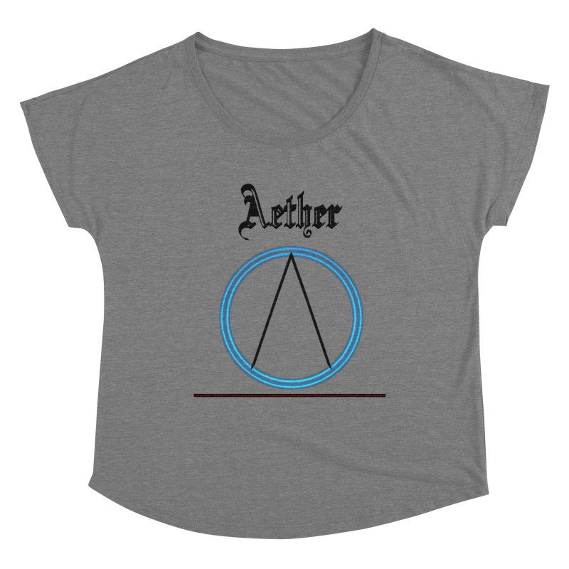 Aether (title) Women's Scoop Neck by CIULLO CORPORATION's Artist Shop