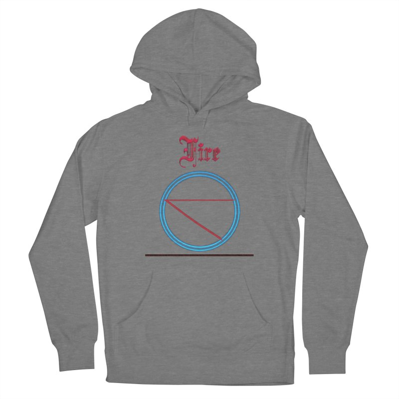 Fire (title) Women's Pullover Hoody by CIULLO CORPORATION's Artist Shop