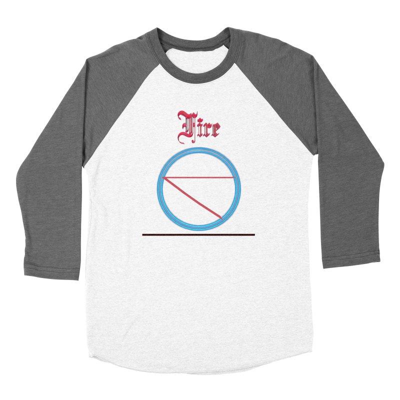 Fire (title) Women's Longsleeve T-Shirt by CIULLO CORPORATION's Artist Shop