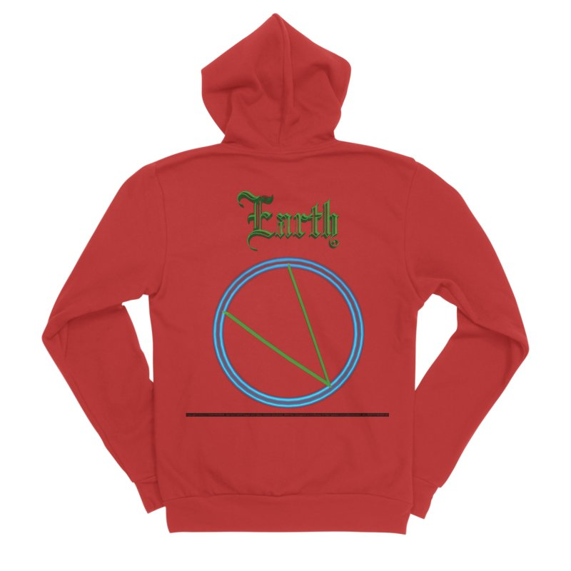 Earth (title) Men's Zip-Up Hoody by CIULLO CORPORATION's Artist Shop