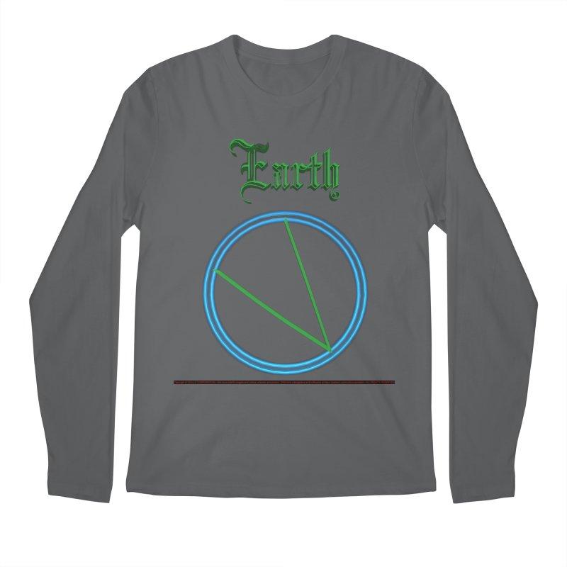 Earth (title) Men's Longsleeve T-Shirt by CIULLO CORPORATION's Artist Shop