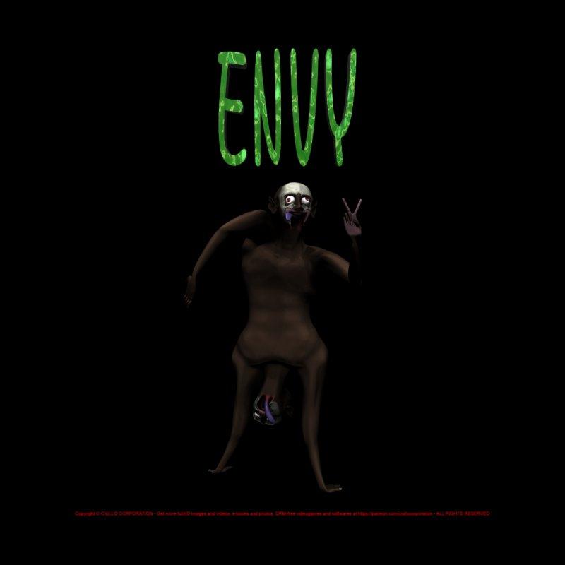 Envy - Joker Men's Sweatshirt by CIULLO CORPORATION's Artist Shop