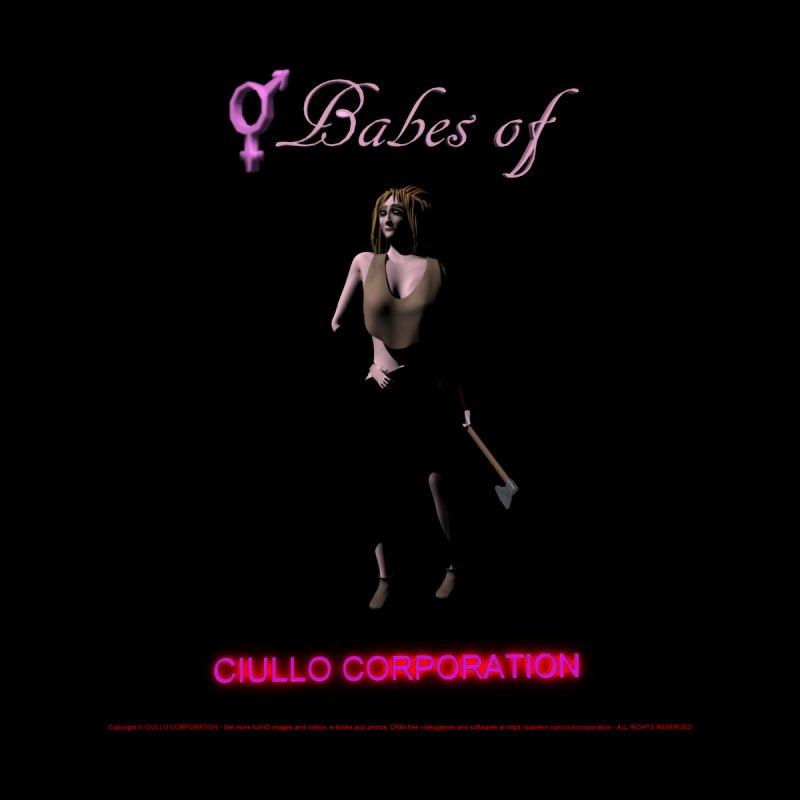 269. Babes of CIULLO CORPORATION (Costiela) Women's Zip-Up Hoody by CIULLO CORPORATION's Artist Shop