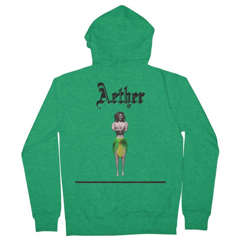 279. Aether (female Eldir Elf) Women's Zip-Up Hoody by CIULLO CORPORATION's Artist Shop