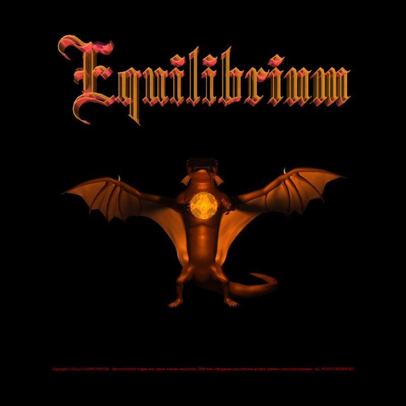 301. Equilibrium (male Tarah Dragon) Coves of CIULLO CORPORATION Duvet by CIULLO CORPORATION's Artist Shop