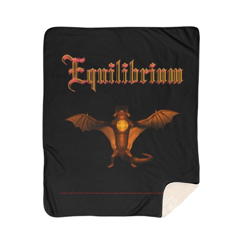 301. Equilibrium (male Tarah Dragon) Coves of CIULLO CORPORATION Blanket by CIULLO CORPORATION's Artist Shop