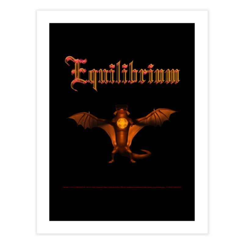 301. Equilibrium (male Tarah Dragon) Coves of CIULLO CORPORATION Fine Art Print by CIULLO CORPORATION's Artist Shop