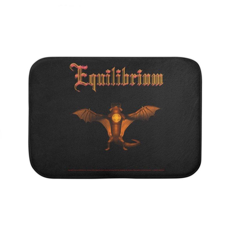 301. Equilibrium (male Tarah Dragon) Coves of CIULLO CORPORATION Bath Mat by CIULLO CORPORATION's Artist Shop