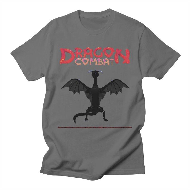 306. DRAGON COMBAT (male Asterr Dragon) Babes of CIULLO CORPORATION T-Shirt by CIULLO CORPORATION's Artist Shop