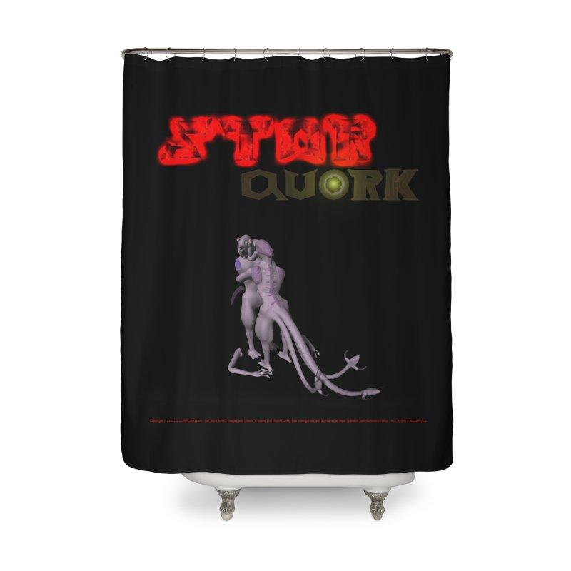 308. STAR QUORK (Raypthor & Chyrkyan) Coves of CIULLO CORPORATION Shower Curtain by CIULLO CORPORATION's Artist Shop