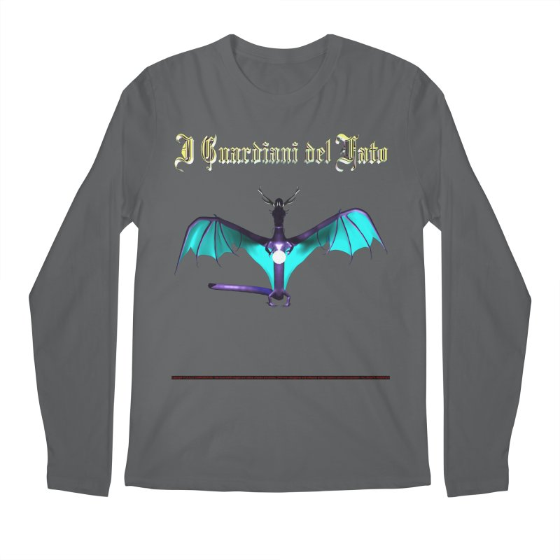 304. The Guardians of Fate (male Zephyar Dragon) Dudes of CIULLO CORPORATION Longsleeve T-Shirt by CIULLO CORPORATION's Artist Shop