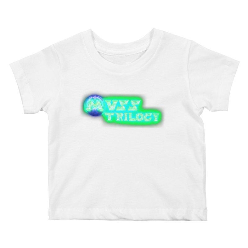 MUSS Trilogy (title) Kids Baby T-Shirt by CIULLO CORPORATION's Artist Shop