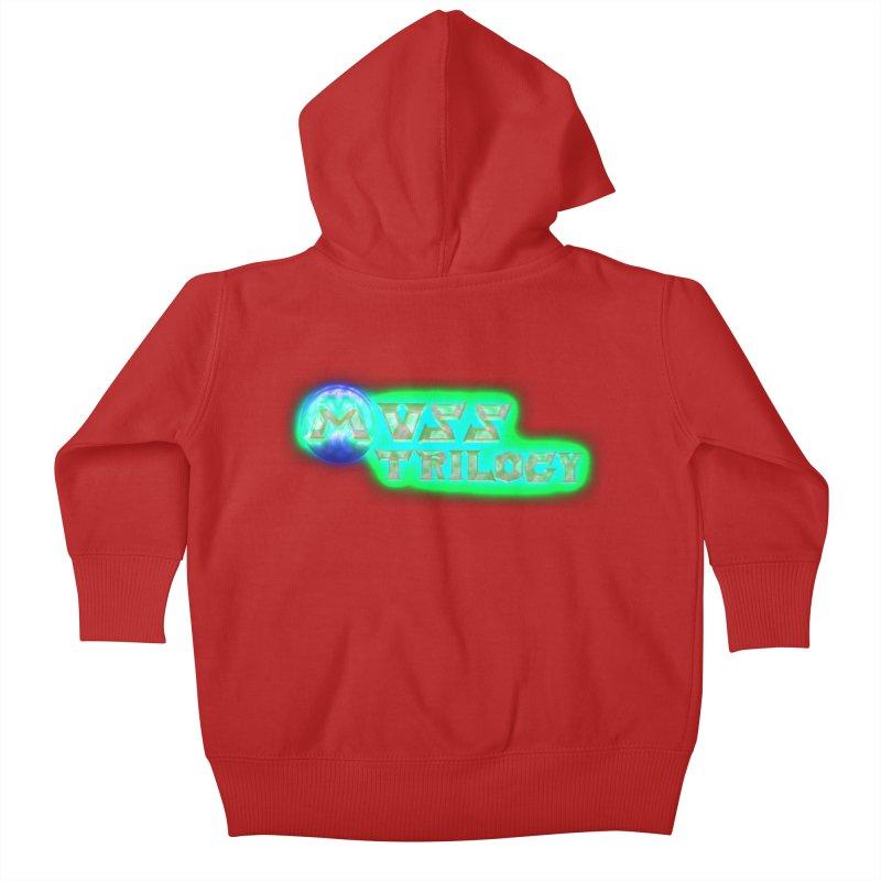 MUSS Trilogy (title) Kids Baby Zip-Up Hoody by CIULLO CORPORATION's Artist Shop