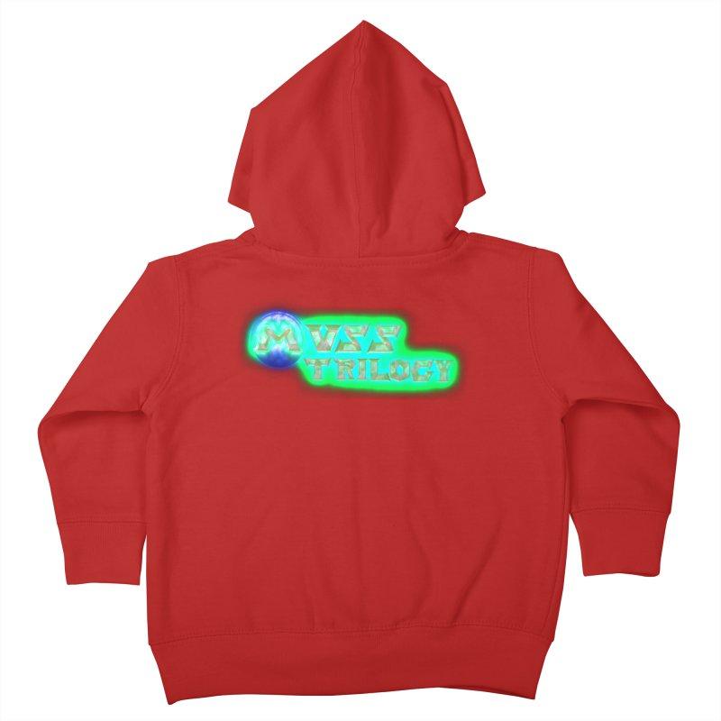 MUSS Trilogy (title) Kids Toddler Zip-Up Hoody by CIULLO CORPORATION's Artist Shop
