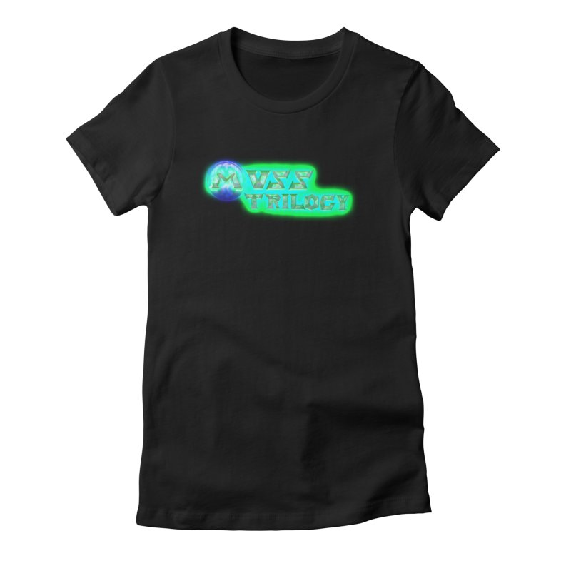MUSS Trilogy (title) Women's Fitted T-Shirt by CIULLO CORPORATION's Artist Shop