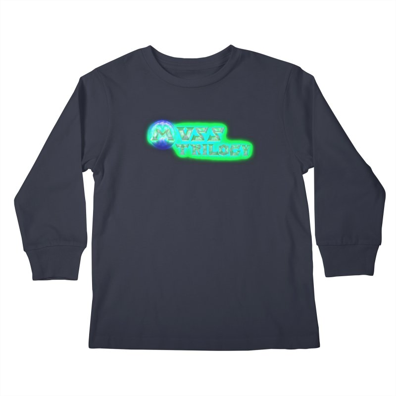 MUSS Trilogy (title) Kids Longsleeve T-Shirt by CIULLO CORPORATION's Artist Shop