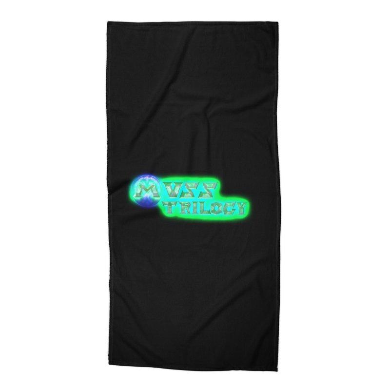MUSS Trilogy (title) Accessories Beach Towel by CIULLO CORPORATION's Artist Shop