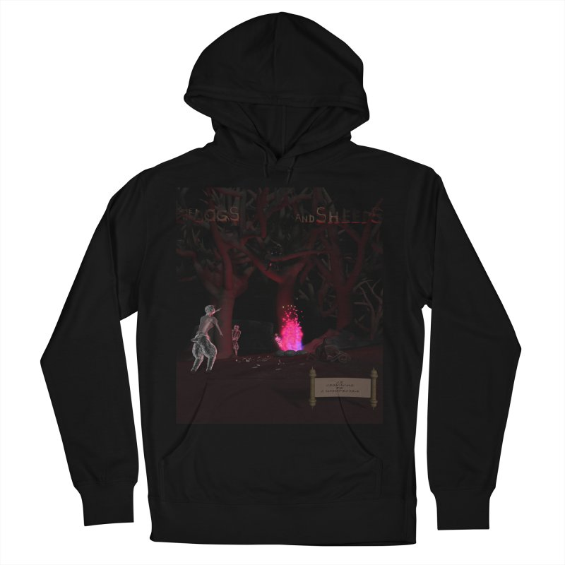 Of Dogs and Sheeps (Titled) Women's Pullover Hoody by CIULLO CORPORATION's Artist Shop