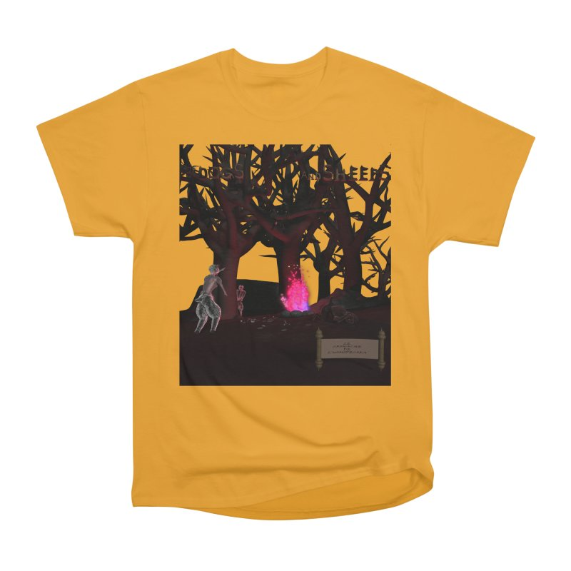 Of Dogs and Sheeps (Titled) Women's Classic Unisex T-Shirt by CIULLO CORPORATION's Artist Shop