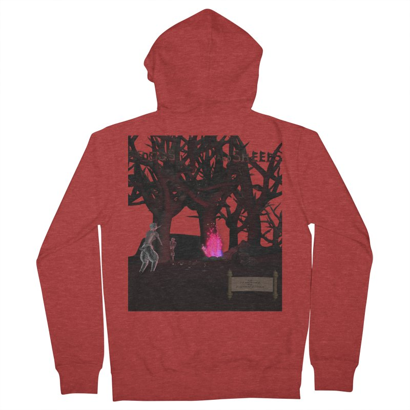 Of Dogs and Sheeps (Titled) Women's Zip-Up Hoody by CIULLO CORPORATION's Artist Shop