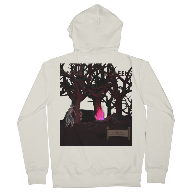 Of Dogs and Sheeps (Titled) Men's Zip-Up Hoody by CIULLO CORPORATION's Artist Shop