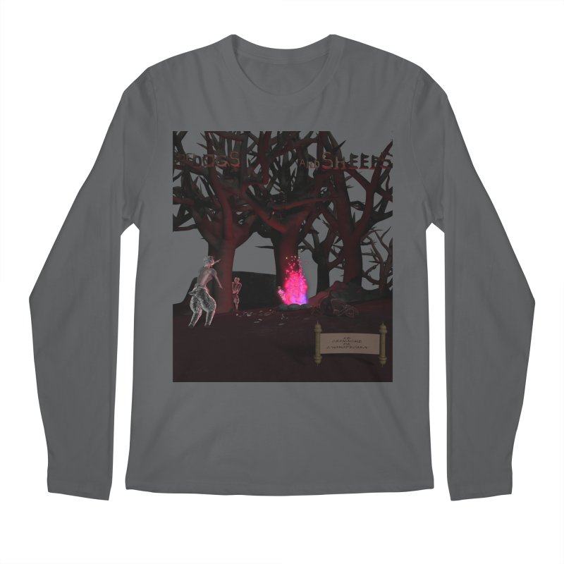 Of Dogs and Sheeps (Titled) Men's Longsleeve T-Shirt by CIULLO CORPORATION's Artist Shop