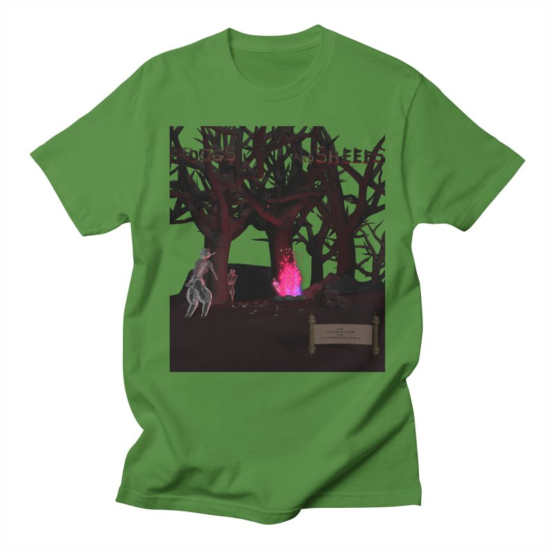 Of Dogs and Sheeps (Titled) Men's T-Shirt by CIULLO CORPORATION's Artist Shop