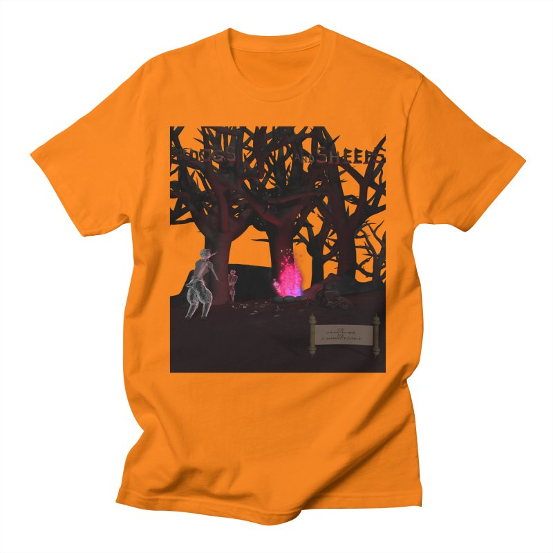 Of Dogs and Sheeps (Titled) Women's Unisex T-Shirt by CIULLO CORPORATION's Artist Shop