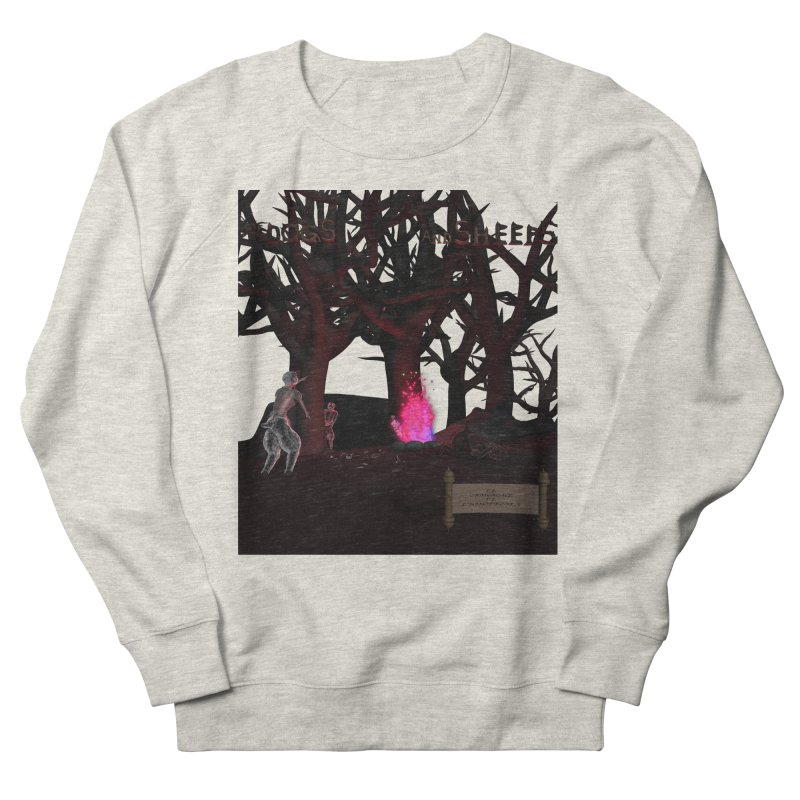 Of Dogs and Sheeps (Titled) Women's Sweatshirt by CIULLO CORPORATION's Artist Shop