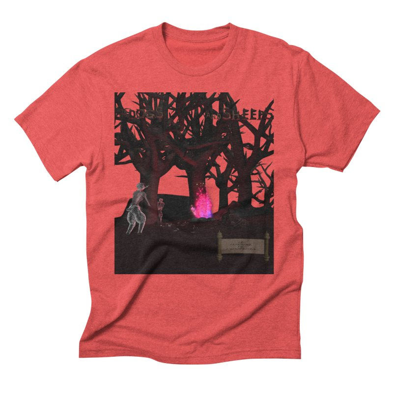Of Dogs and Sheeps (Titled) Men's Triblend T-Shirt by CIULLO CORPORATION's Artist Shop