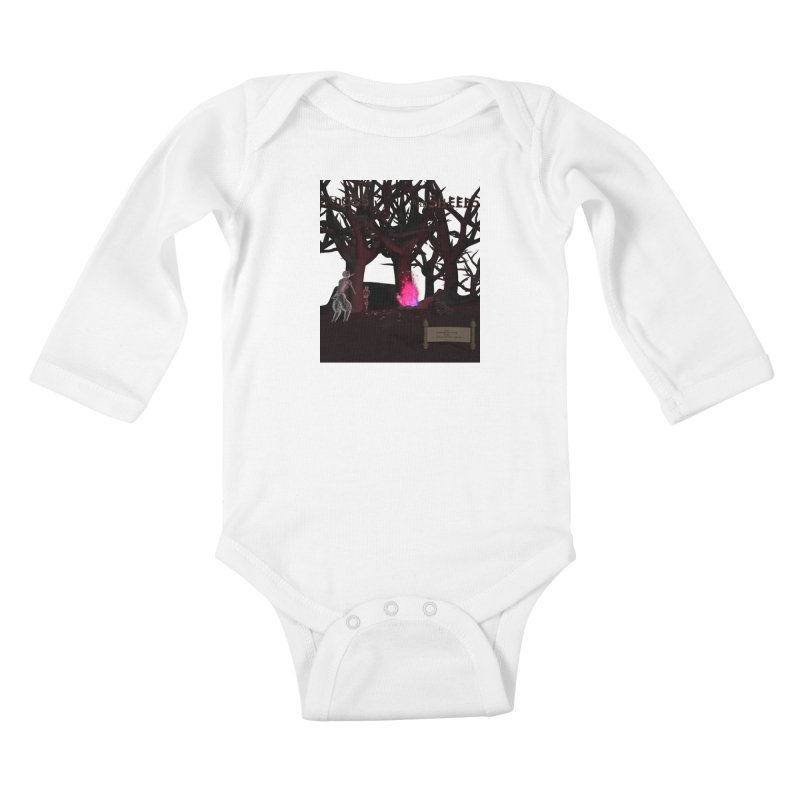 Of Dogs and Sheeps (Titled) Kids Baby Longsleeve Bodysuit by CIULLO CORPORATION's Artist Shop