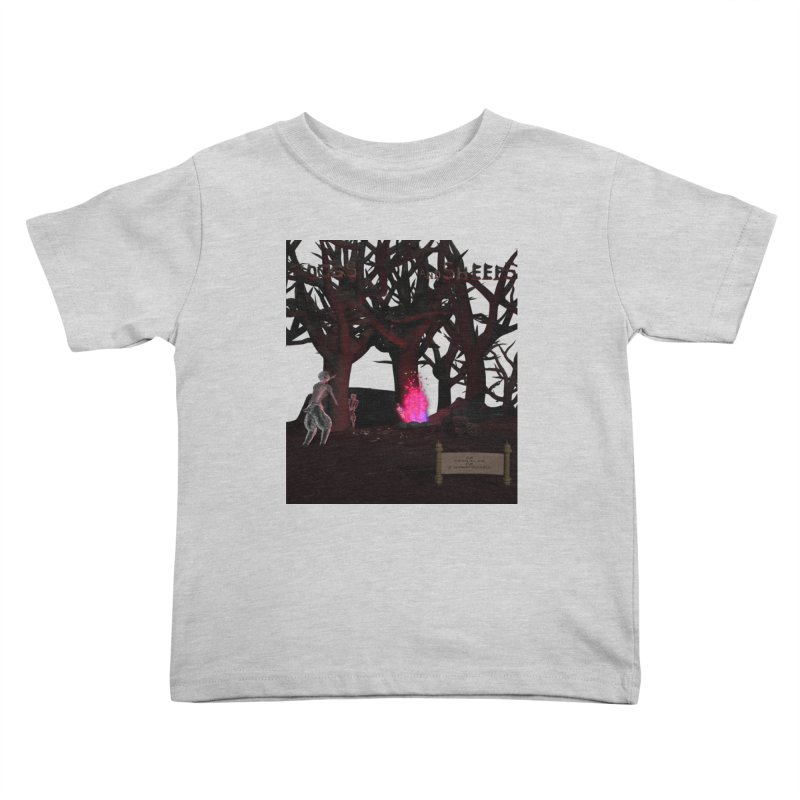 Of Dogs and Sheeps (Titled) Kids Toddler T-Shirt by CIULLO CORPORATION's Artist Shop