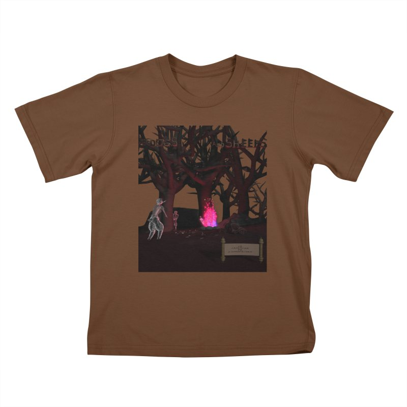 Of Dogs and Sheeps (Titled) Kids T-Shirt by CIULLO CORPORATION's Artist Shop