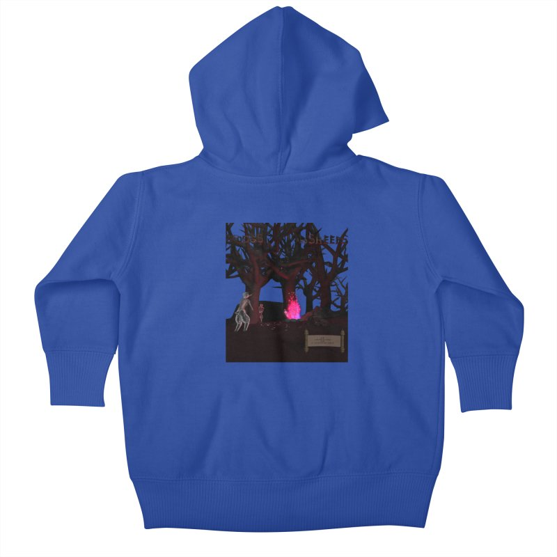 Of Dogs and Sheeps (Titled) Kids Baby Zip-Up Hoody by CIULLO CORPORATION's Artist Shop