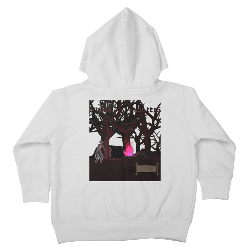 Of Dogs and Sheeps (Titled) Kids Toddler Zip-Up Hoody by CIULLO CORPORATION's Artist Shop